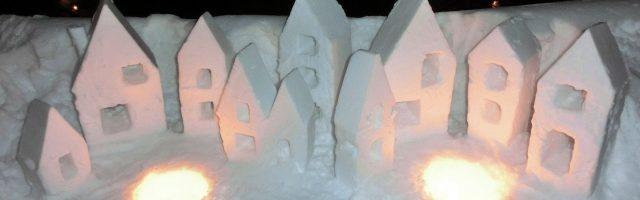 dreamdiary-Snow sculpture